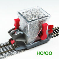 BS-HO-02 HO Scale Advanced Ballast Spreader Car