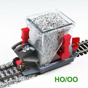 HO Scale Advanced Ballast Spreader Car