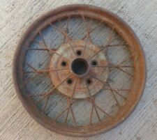 "Early 1928 AR Model A Ford 21"" inch WIRE SPOKE WHEEL Original 5 lug"