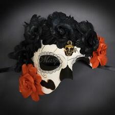 Day of the Dead Mask - Dia de los Muertos Masquerade Mask for Women M31157
