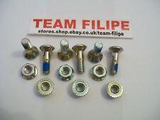 Rear sprocket bolts & locking nuts Suzuki RM125/250 RMZ250/450 NEW
