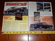 1968 FORD TORINO GT - ORIGINAL 2001 ARTICLE