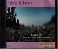 ECHOES OF NATURE - SAMPLER - NATURAL SOUNDS OF THE WILDERNESS - MINT CD
