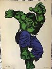 Vintage 1966 INCREDIBLE HULK MMMS FAN CLUB POSTER! Marvelmania! RARE!