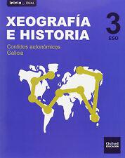 XEOGRAFÍA E HISTORIA 3º ESO OXFORD. Libros del alumno INICIA ISBN 9788467399028
