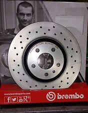 Dischi Freno Forati BREMBO anteriori ALFA 147 - 156   (0949392X)