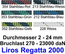 LIROS Regatta 2000 Tauwerk Schot Fall Strecker NEU 8 10 12 14 16 mm div Farben