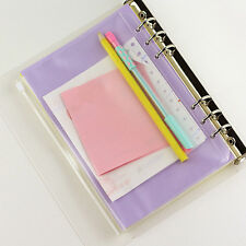 A5 Transparent Document Bag Paper School Office Supplies File Folder Pouch