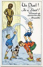 CARTE POSTALE / POSTCARD / BELGIQUE / SOUVENIR DU MANNEKEN PIS BRUXELLES N° 2