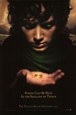 Lord of the Rings Orig Movie Poster Fellowship Adv A DS