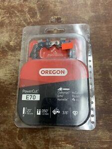 "Oregon E70 PowerCut Saw Chain, 20"""
