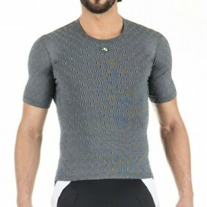 Giordana Cycling Short Sleeve Ceramic Base Layer|Mens-Grey|BRAND NEW