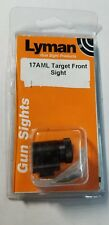 Lyman Tunnel 17AML Target Globe front sight New with Discs Free Shipping