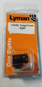 Lyman Tunnel 17AML Target Globe front sight New with Discs