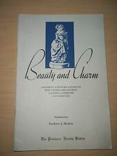 Vintage Providence  RI 1938 Frederic J. Haskin Beauty and Charm Booklet
