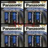 8 Pcs Panasonic 9 Volts (9V) Battery Batteries Super Heavy Duty Zinc Carbon