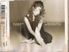 MARIAH CAREY Without You / Never Forget You CD Single