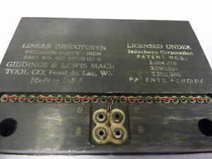 Giddings & Lewis 501-92502-00 Inductosyn Inch Slider