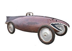 Model T Ford Speedster Body Race Car Racer Belly Tanker WWII Drop Tank Lakester
