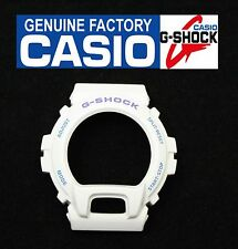 CASIO Original DW-6900CS G-Shock White BEZEL Light Purple / Light Blue Lettering