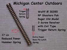 Wolff Spring Kit for Ruger BLACKHAWK 3 SCREW Old Model / Army Single Six 30390