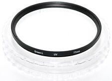 77mm. filtro UV Green L