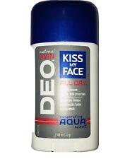 Kiss My Face Natural Man DEO Aqua Scent Aluminum Free Deodorant 2.48 oz