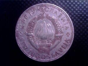 YUGOSLAVIA    10   DINARA   1977  BIG  COIN        JUL30F