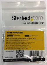 Star Tech HDMI to DVI-D Video Cable Adapter - M/F - HDMIDVIMF *NEW*