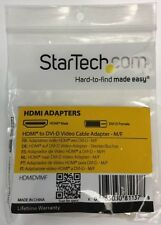 StarTech HDMI to DVI-D Video Cable Adapter - M/F - HDMIDVIMF * NEW *