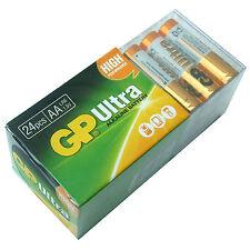 Paquete De 24 Baterías AA Gp Ultra Alcalino Alta Potencia 15AU LR6 MN1500 2022 de caducidad