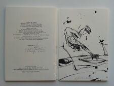 """KHOURY-GHATA Vénus """" Version des oiseaux """" NUM. 1/65 Vélin + LITHOS de VELIKOVIC"""