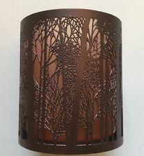 YANKEE CANDLE TWILIGHT SILHOUETTES FOREST TREES VOTIVE TEA LIGHT HOLDER HTF ITEM