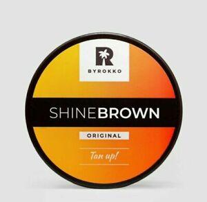 Byrokko SHINE BROWN Bräunungsbeschleuniger Bräunungscreme Solariumcreme Rabatt !