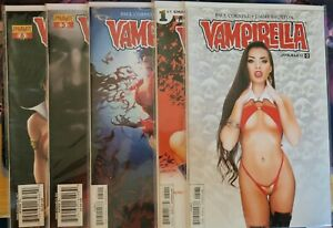 Vampirella Bundle Lot (Dynamite Comics) Stunning Cover