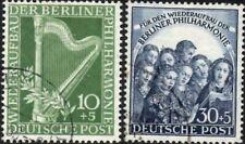 Germany Berlin 1950 Berlin Philharmonic Orchestra  Set of 2 SG.B72/B73 Fine Used