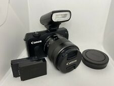 Canon EOS M 18.0 MP Compact Systems Camera with 3.0-Inch LCD and EF-M18-55mm