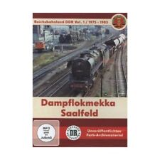 Dampflokmekka Saalfeld 1975-1985 - Reichsbahnland DDR. Vol.1, 1 DVD DVD