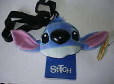 Disney Japan Lilo & Stitch Plush Coin Purse ID Holder Long Strap