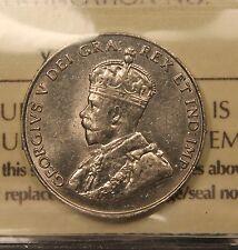 1931 Canada 5 Cents AU-55 ICCS. High grade. BV $150