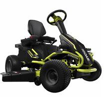 Ryobi 38 in. 100Ah Battery Electric Rear Engine Riding Lawn Mower