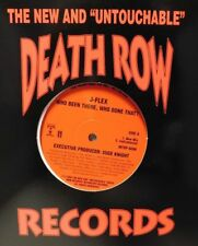 "Dat Nigga Daz ""Me In Your World"" J-Flex ""Who Been There"" 12"" Record ""Death Row"""