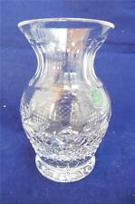 Galway Leah Irish Cut Art Glass Lead Crystal Vase with It's Original Tag Mint