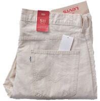 Levis Jeans 511 Men's Slim Fit Casual Trouser Pants Choose Size & Color