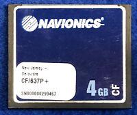 Navionics Platinum Plus CF/637P+ New Jersey - Delaware Map Chart Card Raymarine