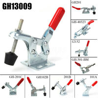10 Types Holding Capacity Quick Release Horizontal U Bar Vertical Toggle Clamp