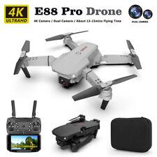 E88 Folding Drone 4k HD Dual Camera 15Min Four Axis Flight Drone