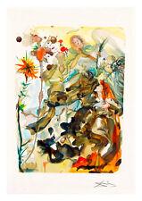 Divine Comedy Paradise 25 by Salvador Dali A4 Art Print