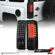 "Smoke Tinted ""Super Bright"" LED Brake Lamps Tail Lights 2006-2010 Hummer H3 SUV"