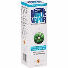 Zim's® Max-Vapor Mentholated Rub Cough Suppressant 4 fl. oz. Box